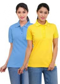 gallery/womens polo neck plain t shirts manufacturers supplier & exporters of polo neck t shirts for corporate wholesale, oem manufacturer womens t shirts, india uk europe usa london