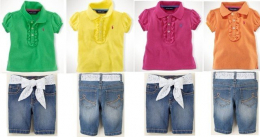 gallery/gils-trendy-incorp-oem-polo-t-shirt-jeans-children-girls-fashion-classic-short-sleeve-manufcaturers-exporter
